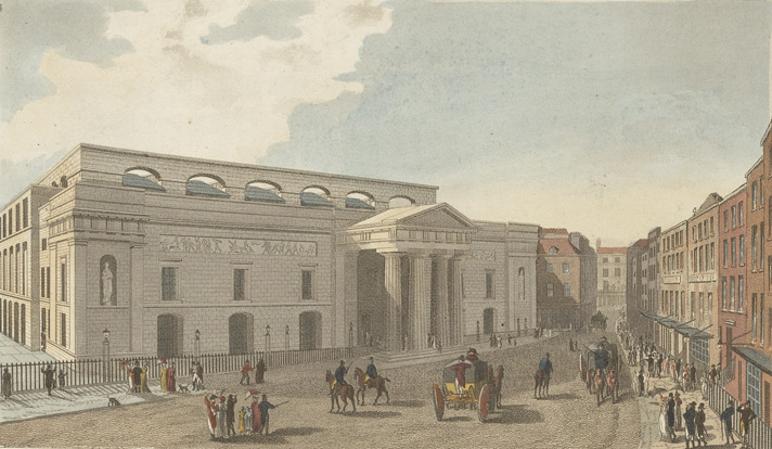 Theatre Royal, Covent Garden from Bow Street